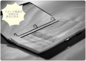 銀座カラーカウンセリングファイル(イメージ)